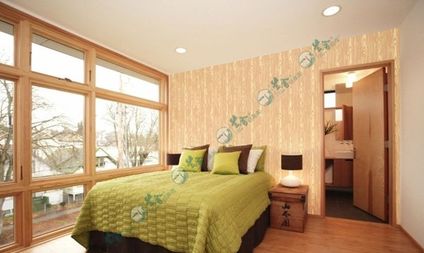 名称:卧室背景墙-壁纸花24 说明